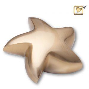 AULK620 Star Brushed Gold Keepsake