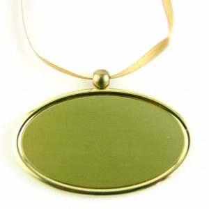 C400 Urn Pendant Golden Oval
