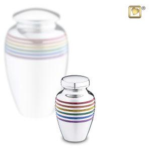 K222 Rainbow Keepsake Urn